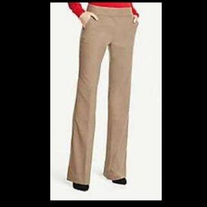 Ann Taylor Factory Dress Pants Beige Size 6 Curvy